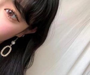 earrings, korean, and minimalist image