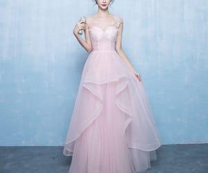 prom dresses, 2018, and a-line princess image