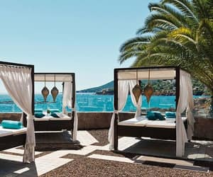beach, French Riviera, and holidays image
