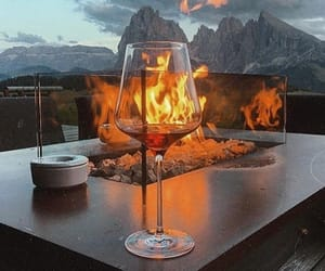 fire, beauty, and glass image