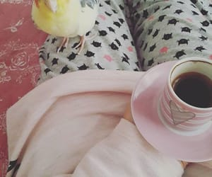 beauty, coffee, and happy image