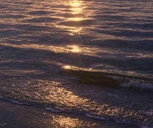 gif, beach, and waves image