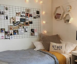 bedroom, girly, and light image