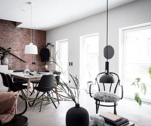 bedroom, exposed brick, and interior image