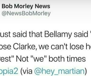 bellamy, words, and clarke image