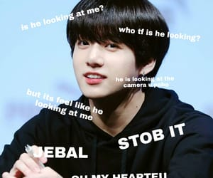 funny, jungkook, and meme image