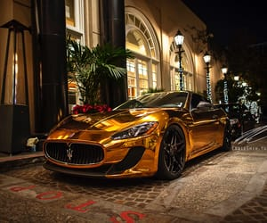 car, luxury, and golden image