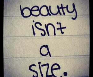 beauty and size image