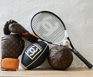 ball, chanel, and gucci image