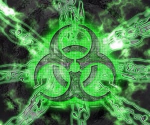 cyber, green, and cyber goth image