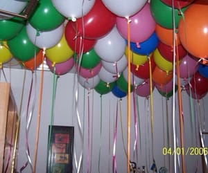 balloon, balloons, and colours image