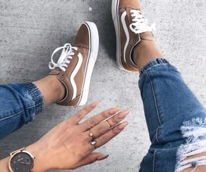 nails, vans, and vans shoes image