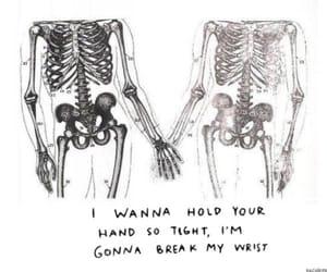 love, pierce the veil, and skeleton image