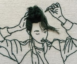 art and embroidery image