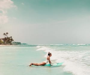 beach, body, and landscapes image