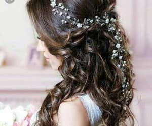 hair, beautiful, and beauty image
