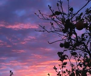 alba, tramonto, and black image