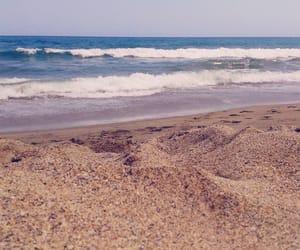 beach, beautiful, and day image