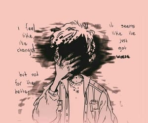 quotes, sad, and pink image
