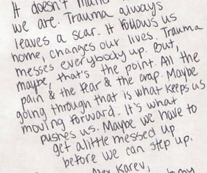 quotes, grey's anatomy, and trauma image