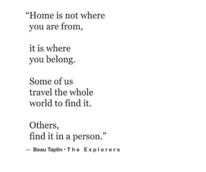 home and quotes image