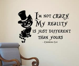quotes, Cheshire cat, and disney image
