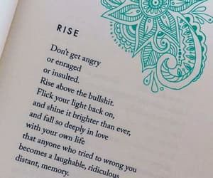 life, poem, and rise up image