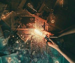 adventure, dark, and light image
