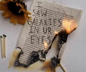 quotes, galaxy, and love image