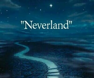 disney, neverland, and peterpan image