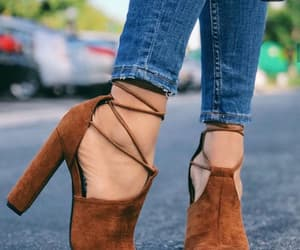 chaussures, fashion, and girl image