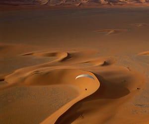 desert and parachute image