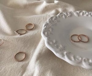 rings, aesthetic, and beige image