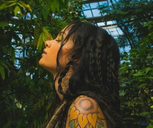 kehlani, tattoo, and green image