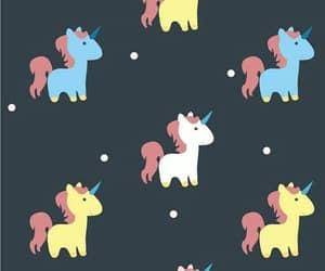 wallpaper, unicorn, and background image