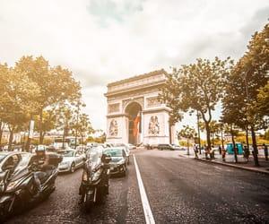 arc, paris, and city image