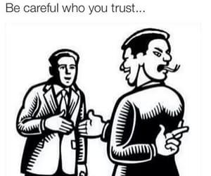 trust, fake, and careful image