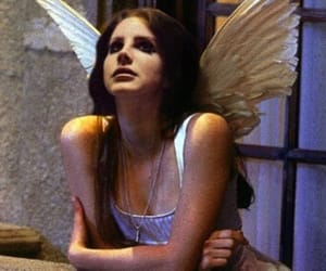 angel and lana del rey image