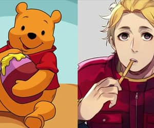 blond, cool, and winnie the pooh image