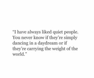quotes and quiet people image