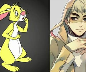cool, winnie the pooh, and anime boy image