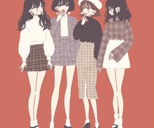 anime girl, beautiful, and cool image