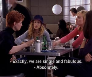 satc, sex and the city, and single image