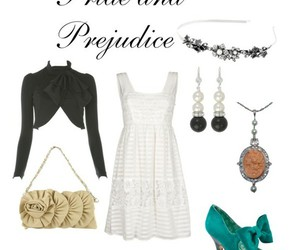 outfit and pride and prejudice image
