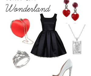 outfit and alice and wonderland image