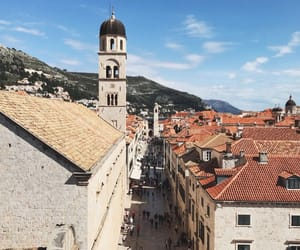 architecture, city, and dubrovnik image