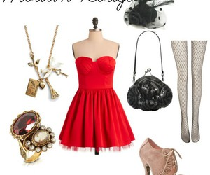moulin rouge and outift image