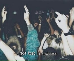 sadness, grunge, and lost image
