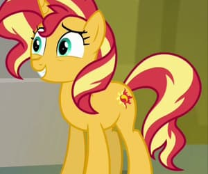 friendship is magic, mlp fim, and sunset shimmer image
