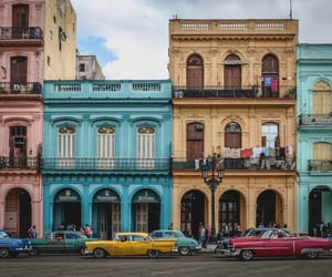 cars, cuba, and travel image